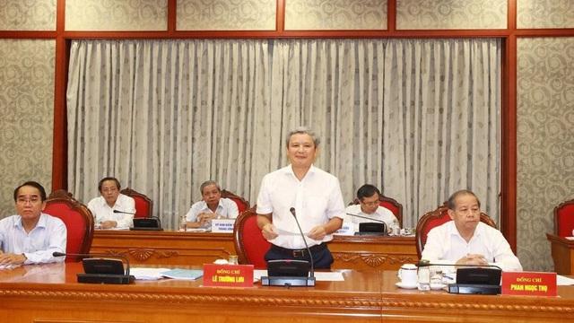 Hoãn tổ chức Đại hội đại biểu Đảng bộ tỉnh Thừa Thiên Huế