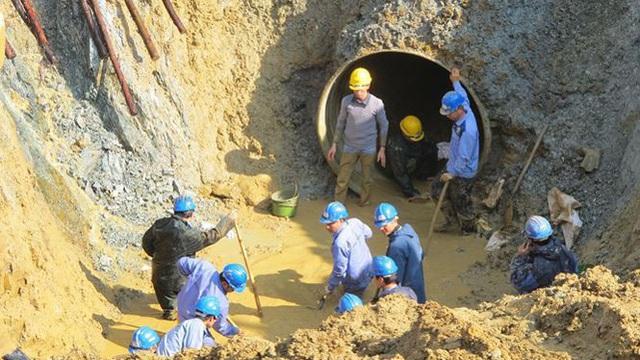 Đường ống nước sông Đà bị vỡ lần thứ 4 trong năm 2020