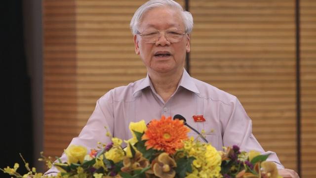 Tổng Bí thư, Chủ tịch nước Nguyễn Phú Trọng: 'Cán bộ lãnh đạo Hà Nội phải có bản lĩnh, trí tuệ, đoàn kết'