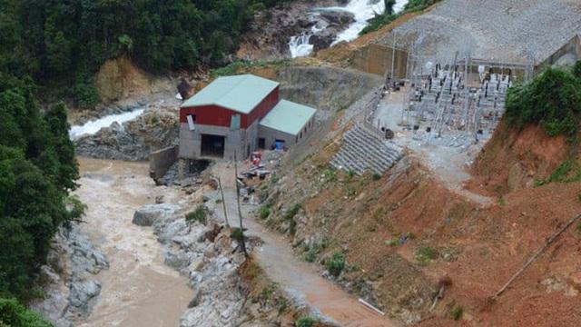 Không còn dấu vết của Trạm bảo vệ rừng 67 - nơi đoàn cứu hộ dừng chân