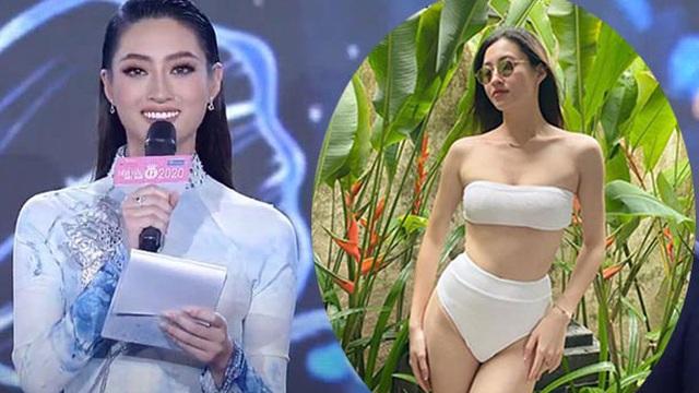 """Lương Thùy Linh bị chê bai khi làm MC bán kết """"Hoa hậu Việt Nam 2020"""""""