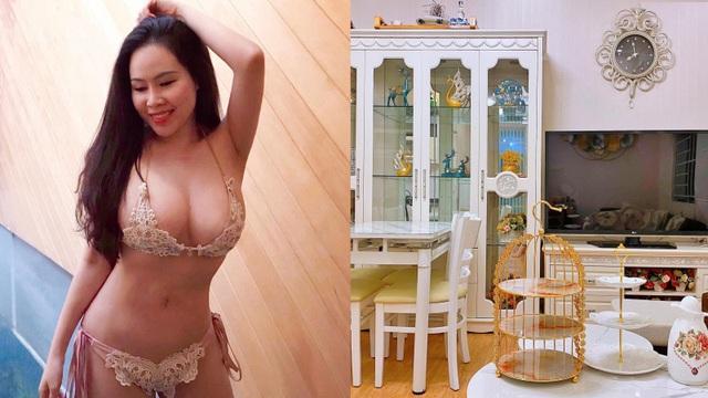 """Mẹ ruột hé lộ nhà riêng sang trọng của """"nữ diễn viên lùn nhất Việt Nam"""""""