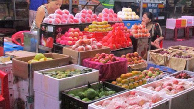 Nhập khẩu rau quả từ Trung Quốc giảm mạnh