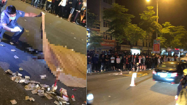 Xe máy va chạm dải phân cách khiến nam thanh niên ngã ra đường, bị ô tô cán tử vong