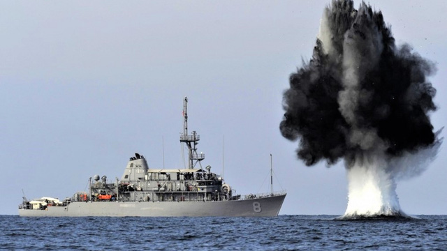 Mìn Hammerhead - Vũ khí không thể xem thường trong chiến tranh trên biển