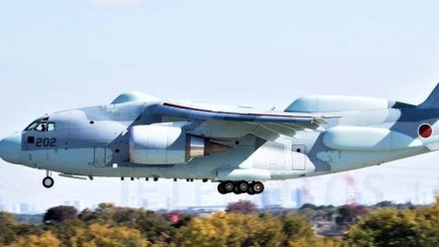 Không quân Nhật Bản nhận máy bay trinh sát Kawasaki RC-2 đầu tiên