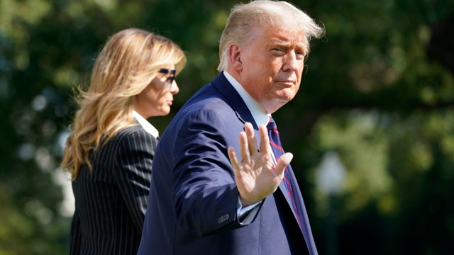 Tổng thống Trump dương tính với Covid liệu có ảnh hưởng đến khả năng tái đắc cử?