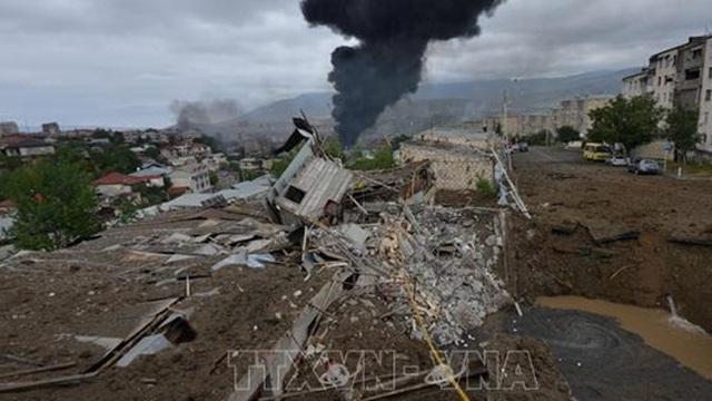 Nga kêu gọi ngừng bắn tại Nagorny-Karabakh