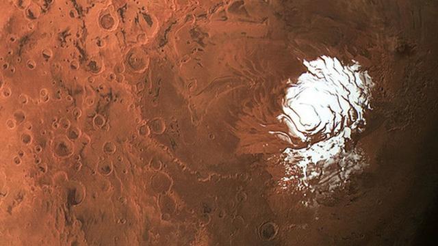 Phát hiện ra nhiều hồ nước muối ngầm ở cực nam Sao Hỏa