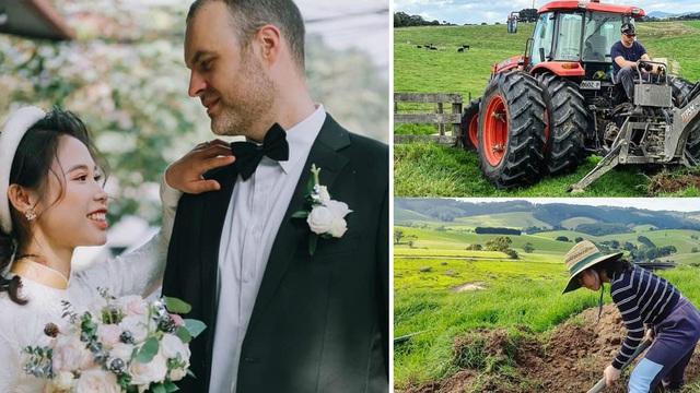 Cô gái Hà thành từ bỏ công việc ổn định, theo chồng sang Úc làm nông dân ở trang trại hơn 300 con bò