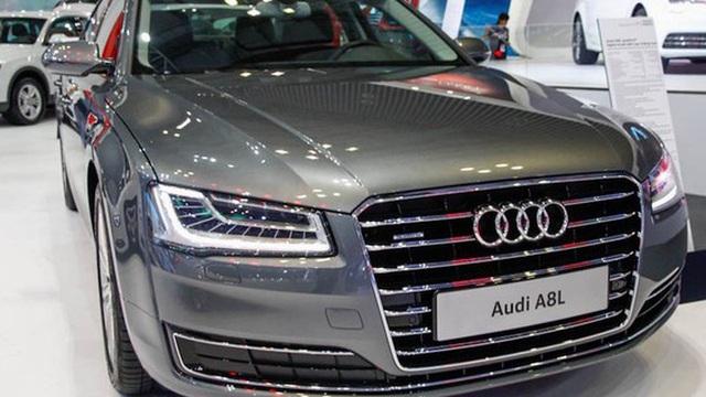 Audi triệu hồi xe sang Audi A8L để sửa lỗi gioăng cao su