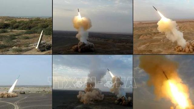 Iran ra mắt hệ thống phóng tên lửa đạn đạo chế tạo trong nước