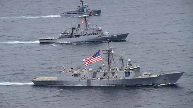 Chín nước châu Mỹ tập trận hải quân chung