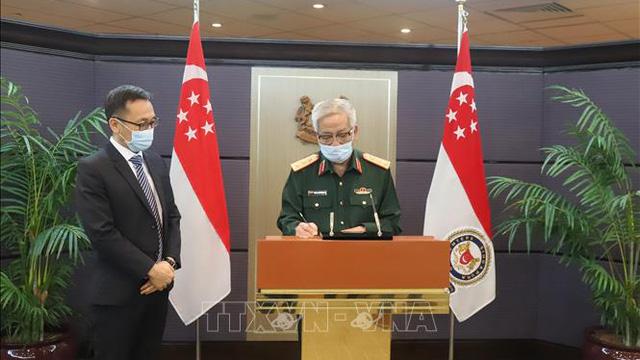 Đối thoại Chính sách Quốc phòng Việt Nam - Singapore lần thứ 11