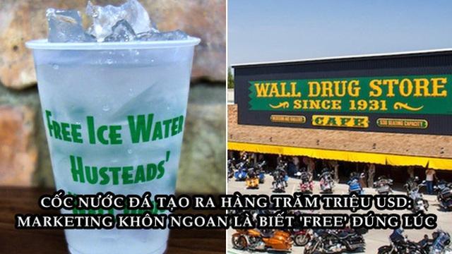 """Cốc nước đá miễn phí - Ý tưởng """"rẻ tiền"""" cứu cửa hàng sắp phải đóng cửa thành doanh nghiệp trị giá hàng trăm triệu USD"""