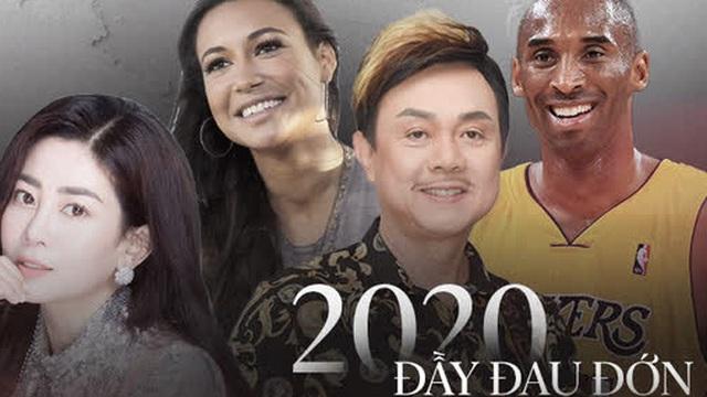 """Năm 2020 quá đau thương: Vbiz xót xa vì NS Chí Tài - Mai Phương ra đi mãi mãi, Hollywood chìm trong nước mắt vì """"Black Panther"""" - Kobe Bryant"""