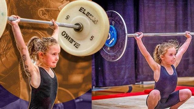 Gặp gỡ cô bé khỏe nhất thế giới: Mới 7 tuổi đã nâng được 80kg, sức mạnh đến cả người trưởng thành cũng phải chào thua
