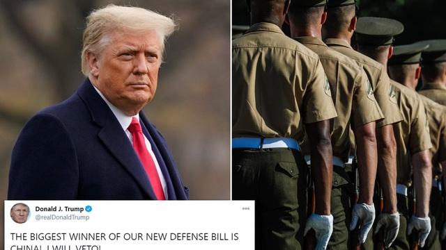 Ông Trump một mình chống lại cả Quốc hội Mỹ?