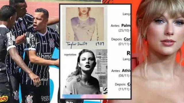 """Fan đội bóng Brazil tôn Taylor Swift lên """"Thánh"""" vì sự trùng hợp khó lý giải mỗi khi cô nàng ra album mới"""