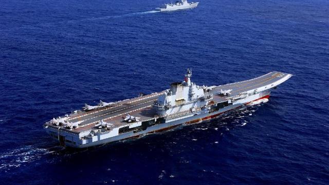 Nhóm tàu sân bay Trung Quốc tiến vào Biển Đông tập trận