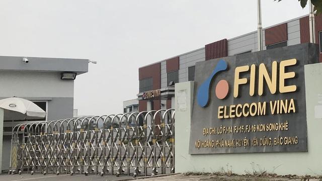Tràn hóa chất công nghiệp ở Bắc Giang, 4 công nhân hít phải khí hóa chất phải nhập viện