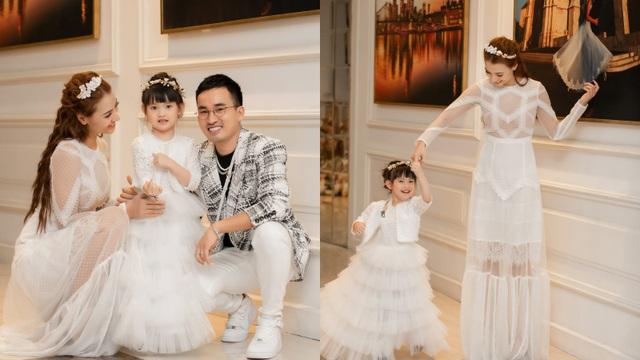 Con gái Hồng Quế hào hứng đi sự kiện cùng mẹ