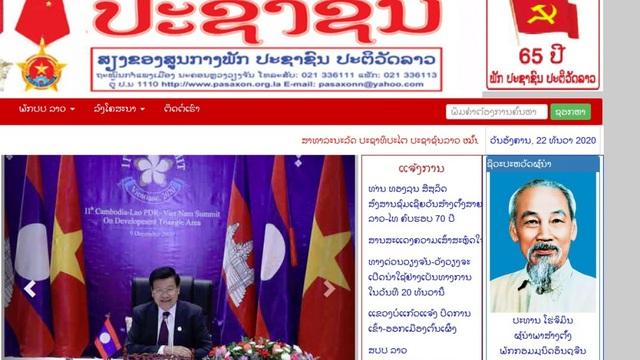 """Báo Đảng của Lào ca ngợi Việt Nam chèo lái thành công """"con tàu ASEAN 2020"""""""