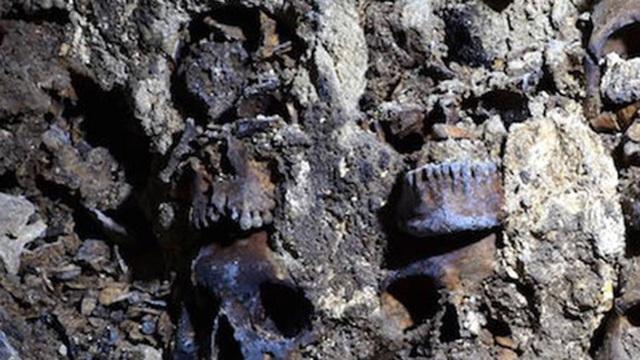 Bí mật 'rợn người' ở tháp đầu lâu Aztec tại Mexico