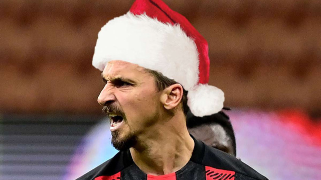 Ibrahimovic mừng Giáng sinh bằng hình ảnh phản cảm trên mạng xã hội