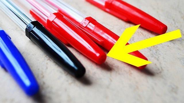 Vì sao đầu bút bi lại có các lỗ nhỏ? - Thiết kế này có thể cứu sống hàng trăm người mỗi năm!