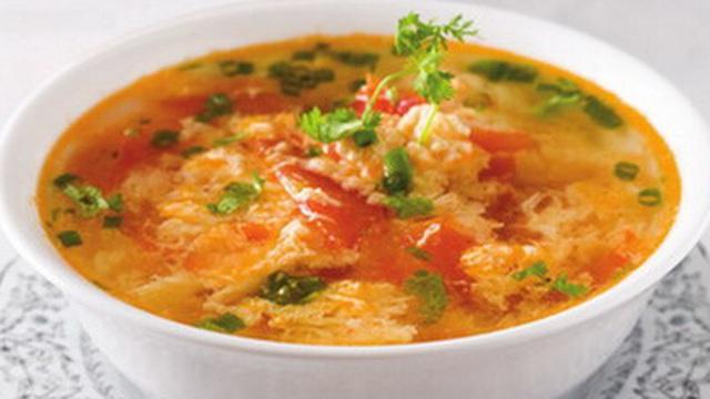 Bồi bổ sức khỏe bằng món canh trứng cà chua