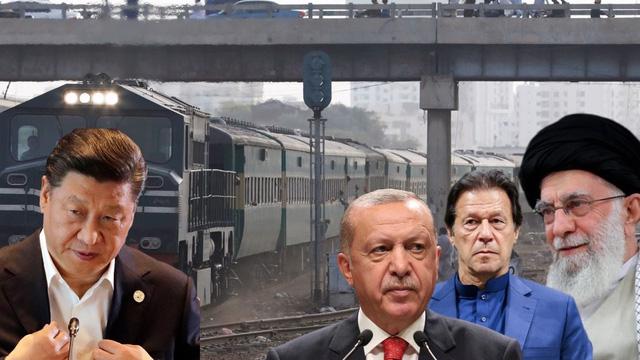"""Hồi sinh con đường khổng lồ """"cởi trói"""" Iran, Trung Quốc """"ngắm trúng"""" Thổ Nhĩ Kỳ và Pakistan"""