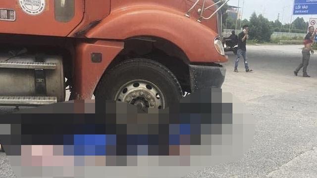 2 nữ sinh đi xe đạp điện tử vong thương tâm sau va chạm với xe đầu kéo