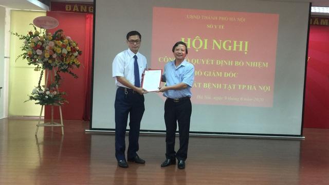 CDC Hà Nội có Phó giám đốc phụ trách mới sau khi Giám đốc Nguyễn Nhật Cảm bị bắt