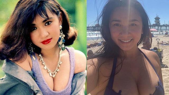 """41 tuổi, """"Nữ hoàng ảnh lịch sexy nhất thập niên 90"""" vẫn vô cùng táo bạo"""