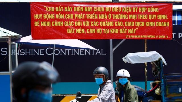 Cảnh báo quảng cáo bán 'siêu dự án' đất nền mặt tiền đường Tô Hiến Thành, TP.HCM