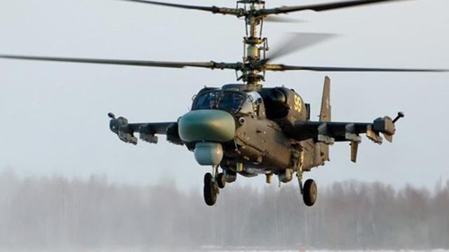 Nga sẽ thử trực thăng quân sự Ka-52M nâng cấp với tên lửa hành trình