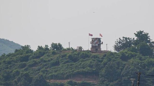 Binh sĩ Triều Tiên xuất hiện trong khu DMZ sát biên giới với Hàn Quốc