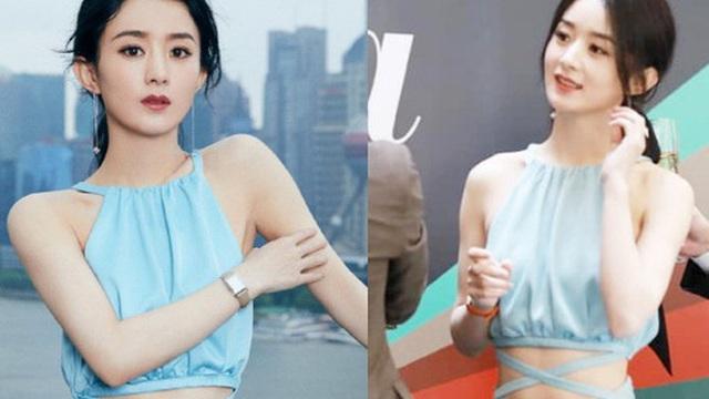 'Mẹ 1 con' Triệu Lệ Dĩnh chiếm top 1 Weibo với vòng eo nhỏ đến khó tin, thậm chí chấp cả camera thường?