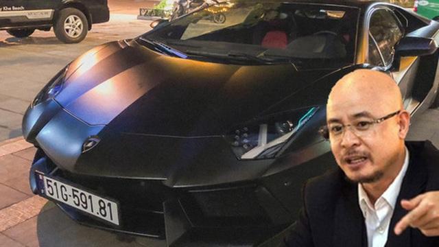 Lamborghini Aventador từng của ông Đặng Lê Nguyên Vũ 'dạt' tới Đà Nẵng, đồ độ đã 'không cánh mà bay'