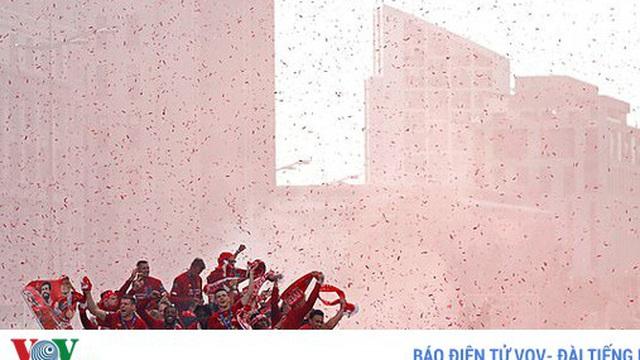 Liverpool sẽ được diễu hành ăn mừng chức vô địch Premier League