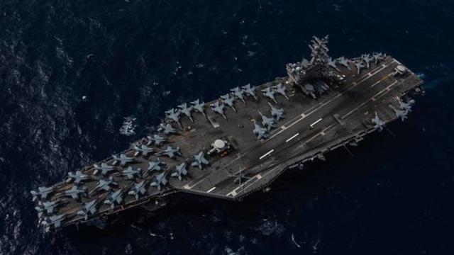 Hoạt động 'bất thường' của 3 nhóm tác chiến tàu sân bay Mỹ gần Biển Đông