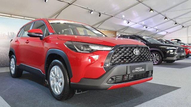 Lộ trang bị đắt giá trên Toyota Corolla Cross tại Việt Nam với giá dự kiến ngang ngửa Mazda CX-5