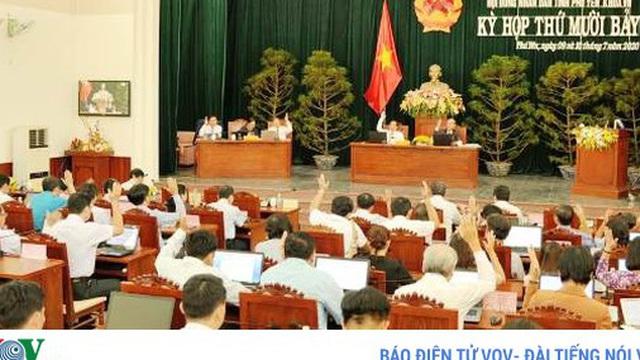 Phú Yên: Cả kỳ họp Hội đồng Nhân dân tỉnh không đại biểu nào chất vấn
