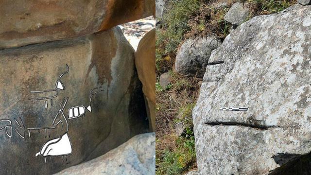 Bí ẩn những hình khắc lạ 4.200 năm tuổi trong ngôi mộ cổ ở Israel