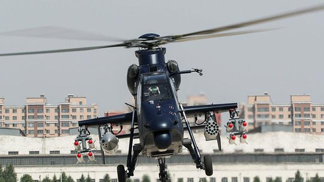 Trung Quốc thử nghiệm tên lửa không-đối-đất cực mạnh dành cho trực thăng