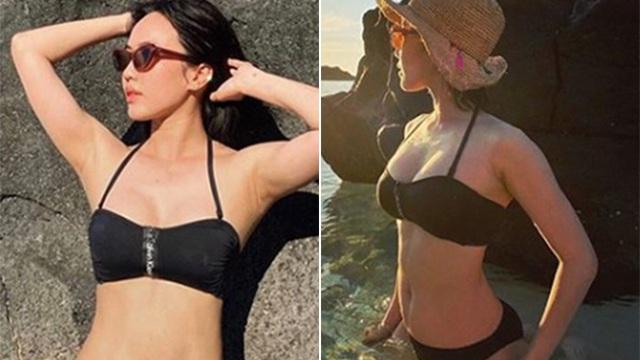 Diệu Nhi khoe ảnh bikini, để lộ vóc dáng nóng bỏng