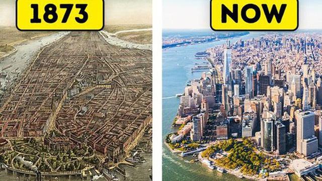 12 thành phố thay da đổi thịt đến đáng sợ, khiến chúng ta phải ngỡ ngàng trước sức mạnh của thời gian