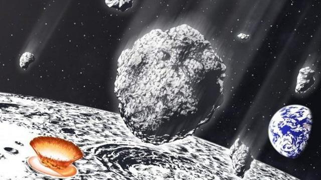 Hé lộ bí mật trận mưa thiên thạch khổng lồ tấn công Trái Đất và Mặt Trăng