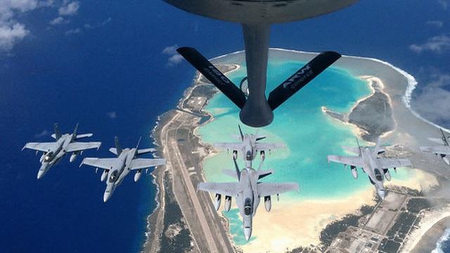Mỹ mở rộng căn cứ quân sự ở đảo trên Thái Bình Dương để chuẩn bị các cuộc không chiến